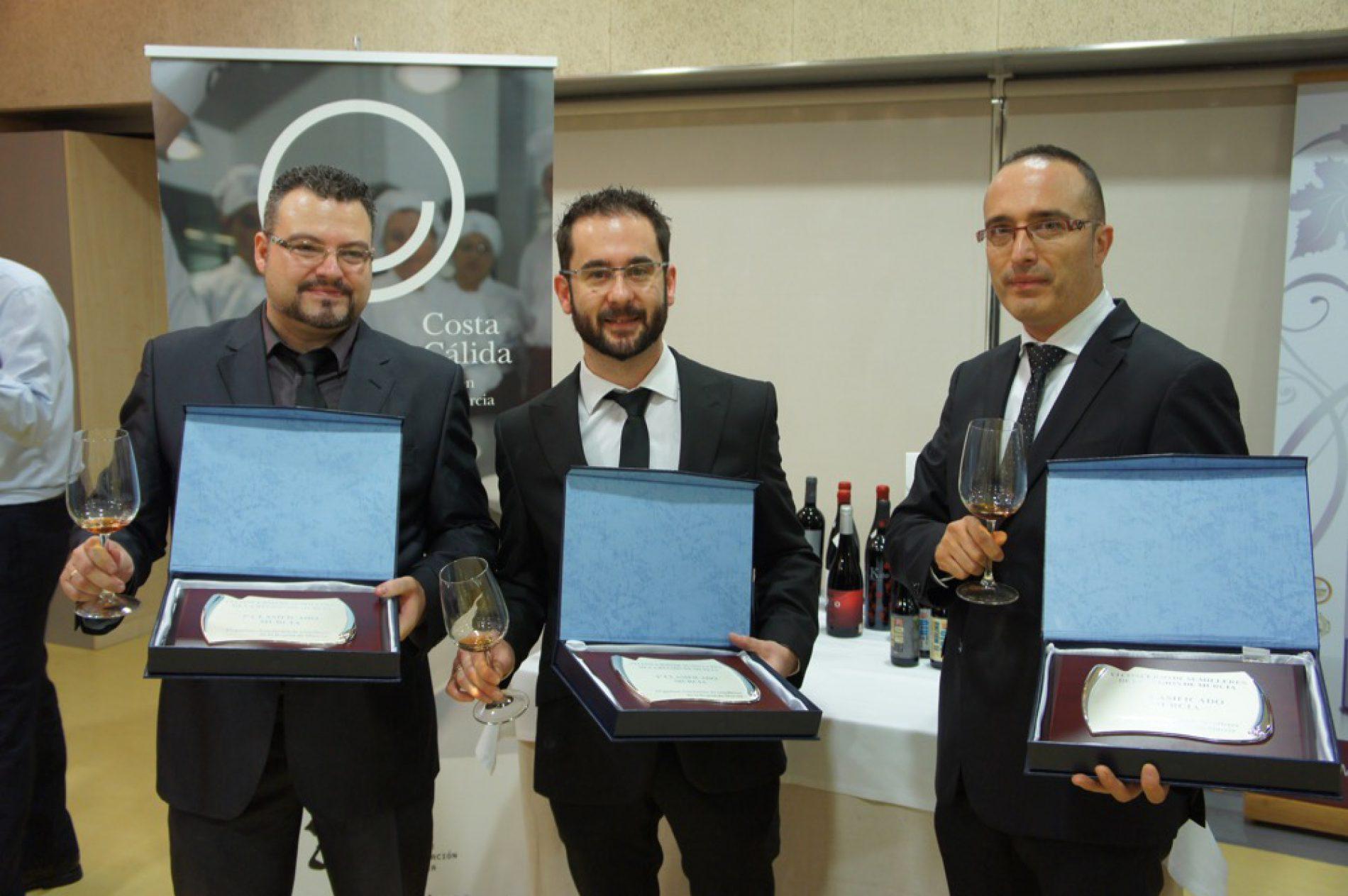 Juanjo Martínez ganador del VI Concurso de Sumilleres de la Región de Murcia
